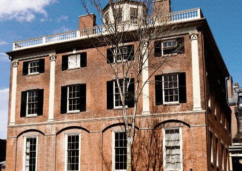 Второй дом Харрисона Грея Отиса в Бостоне ( штат Массачусетс, США), построенный в 1800 году по проекту Чарльза Булфинча