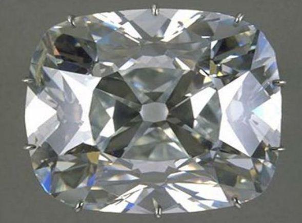 """Крупный алмаз """" Регент"""" весом в 410 каратов"""