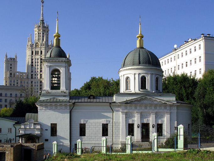 Храм Святителя Николая в Котельниках, Москва ( 1822 - 1824 годы)