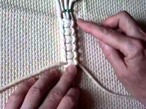 Двойной плоский узел