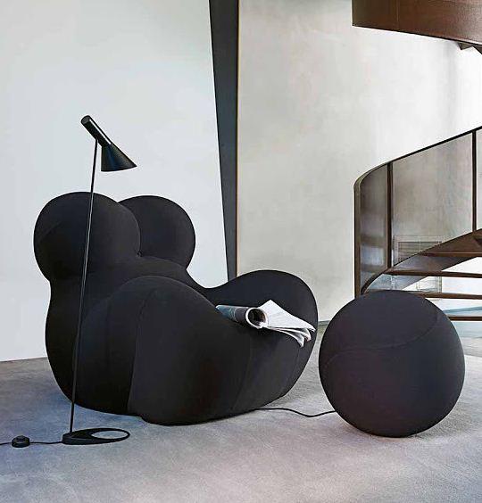 Кресло Up 5 в современном интерьере