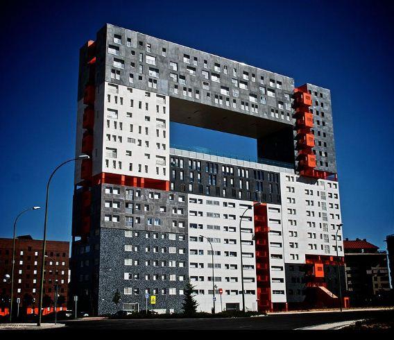 Здание Mirador в Мадриде - творение бюро MVRDV ( 2005 год).
