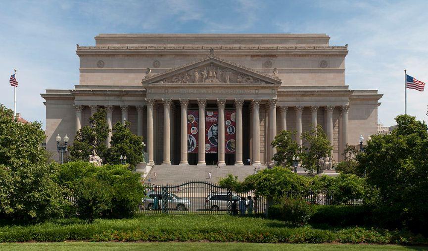 Здание Национального архива США, построенное в 1935 году в неоклассическом стиле по проекту Джона Рассела Поупа