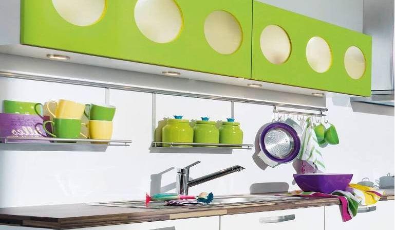 Посуда цвета лайма