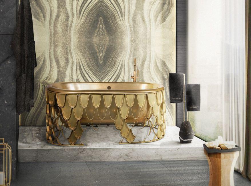 Гламурная ванна - изюминка арт - дизайна