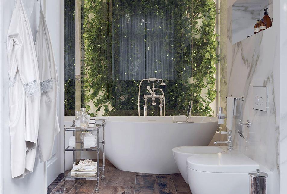 Мини - сад в ванной