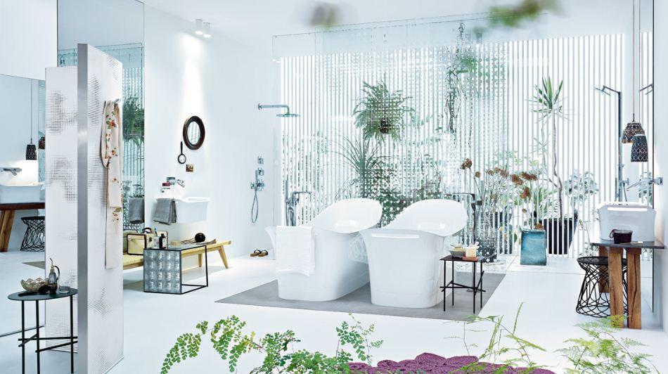 Две ванны - необычно и стильно