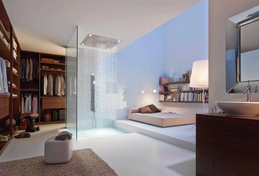 Ванная становится полноценной частью жилого пространства