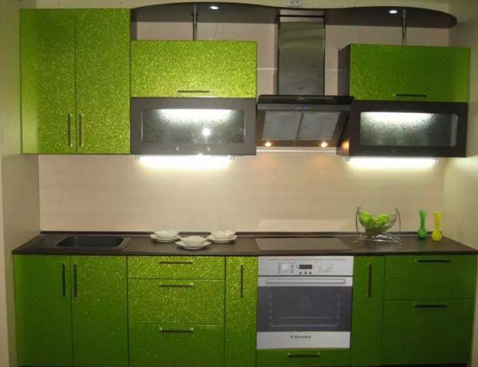 Уютное сочетание цвета лайма с зеленым