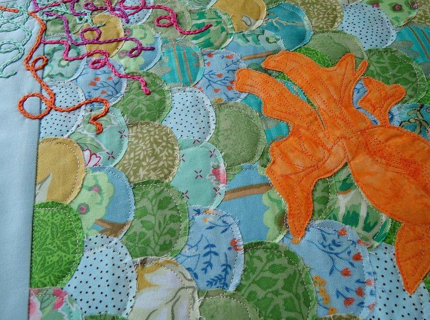 Декоративный шнур на текстильной аппликации