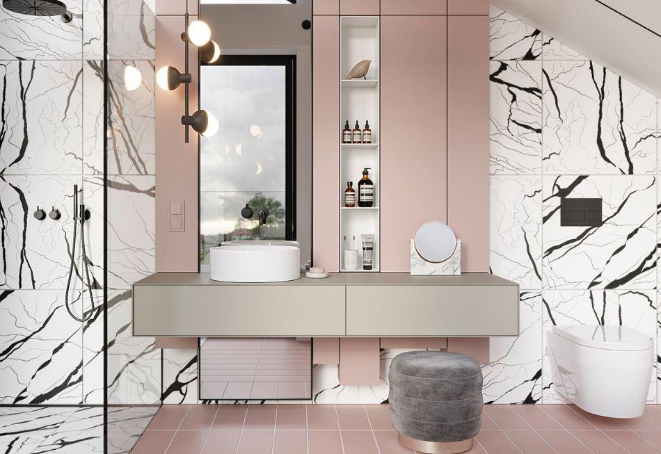 Дизайн интерьера ванной комнаты подчеркивает индивидуальный вкус владельца