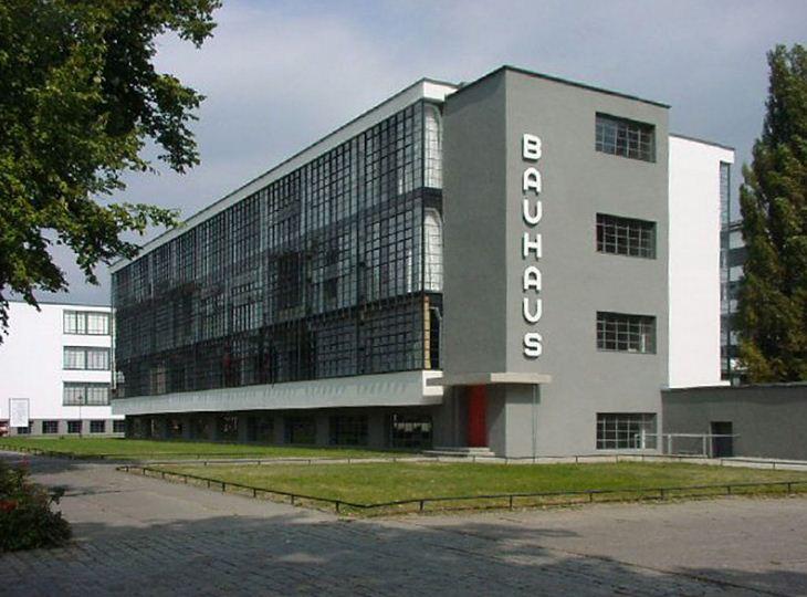 Здание школы Баухауз в Дессау.