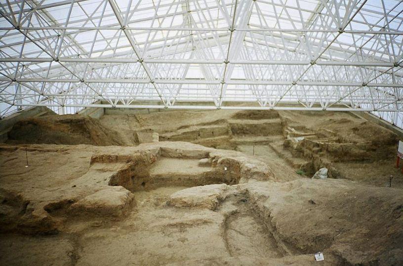 Неолитическое поселение Чатал - Хююк ( Турция)