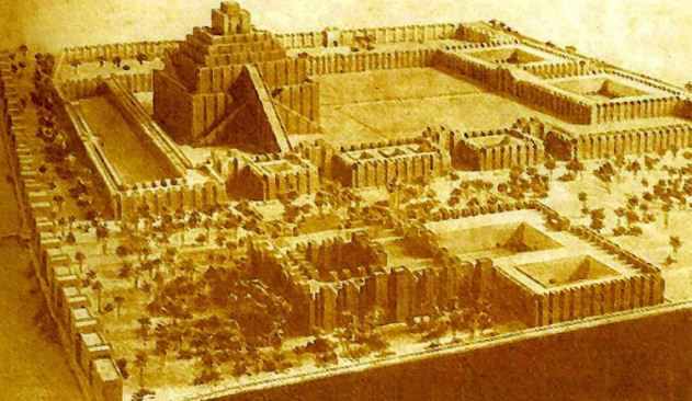 Храм и святилище бога Мардука