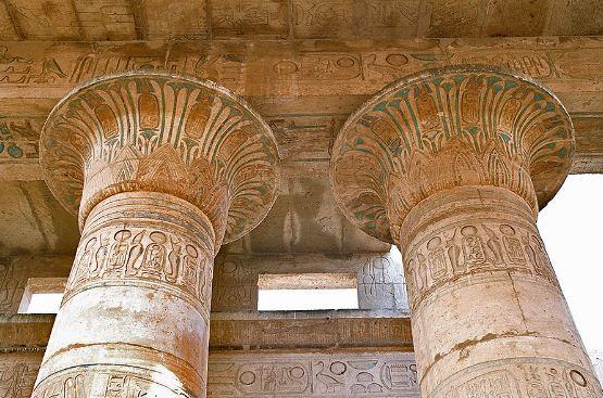 Колонны Древнего Египта