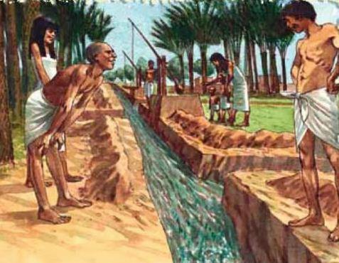 Каналы в Древнем Египте