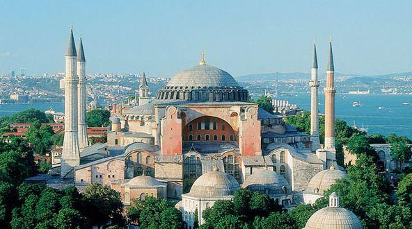 Храм Софии в Константинополе ( Стамбул)