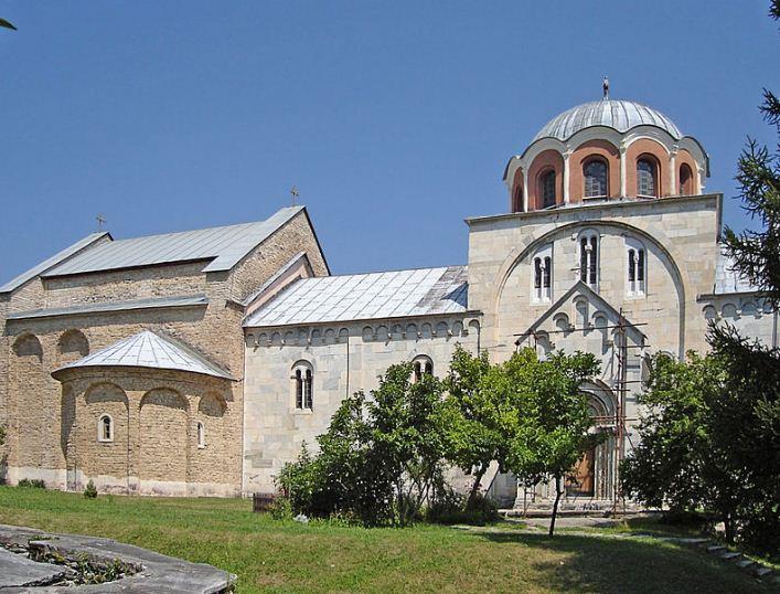 Монастырь Студеница в Сербии