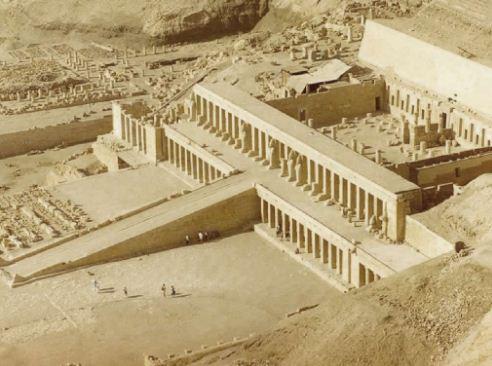 Храмовый комплекс царицы Хатшепсут.