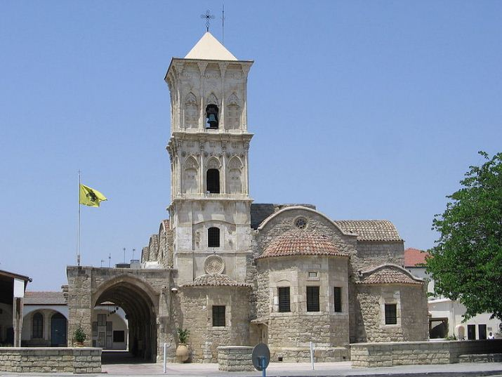 Монастырь Святого Лазаря в Ларнаке - уникальный образец храма с высокой колокольней