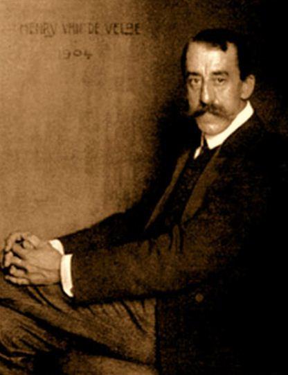 Анри ван де Вельде ( 1863 - 1957 годы жизни) -бельгийский художник и архитектор, один из основателей стиля ар - нуво.