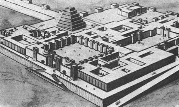 Дворец ассирийского царя Саргона в Хорсабаде