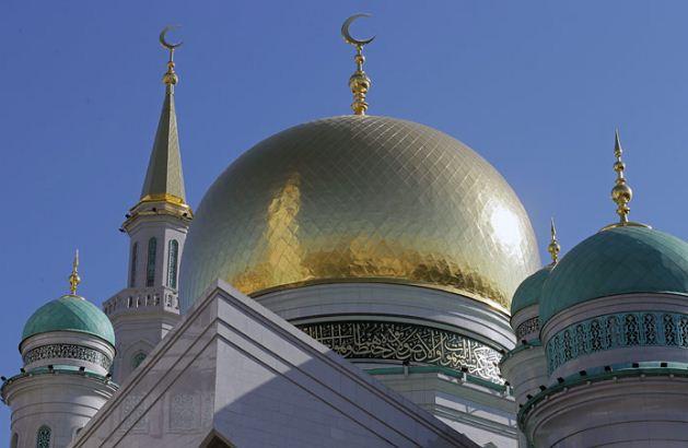 Крупнейшая в Европе соборная мечеть в Москве