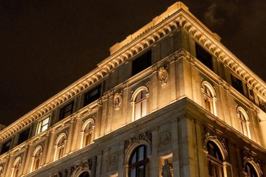 Здание чешской сберкассы