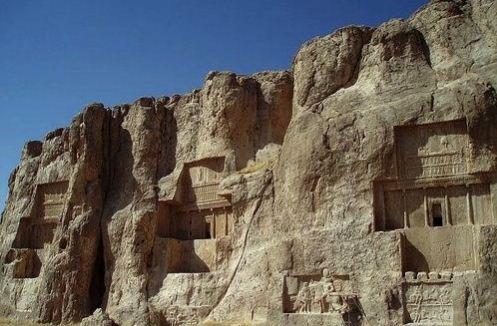 Гробница Дария в Накше - Рустам
