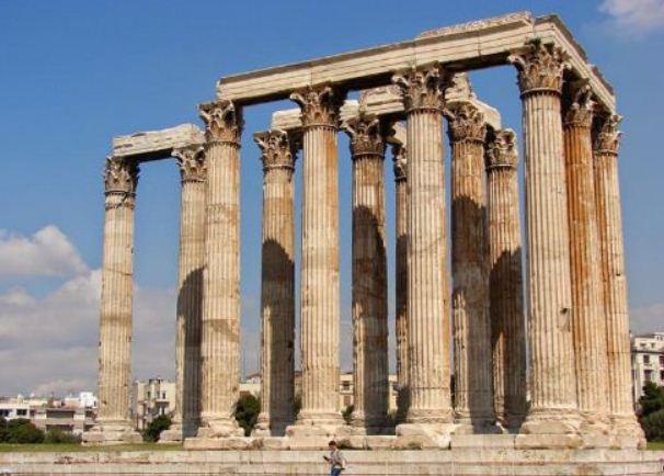 Олимпейон - храм Зевса в Афинах