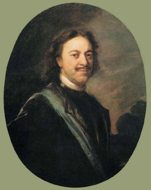 А. М. Матвеев. Портрет Петра Великого ( 1724 - 1725 годы). Холст, масло.
