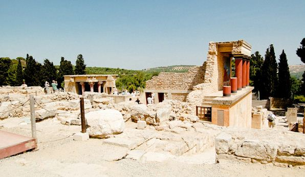 Дворец царя Миноса в Кноссе