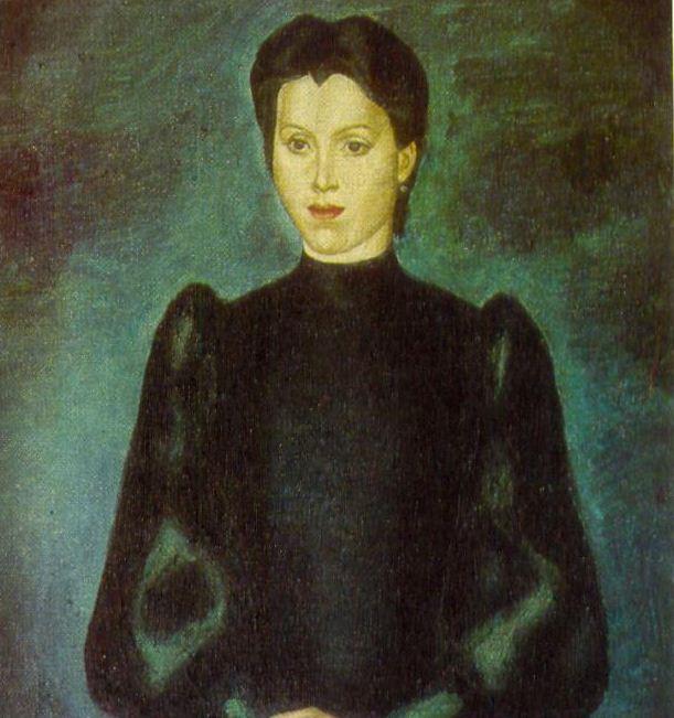 """Владислав Рожнев """" Женский портрет"""" ( 1973 год). Холст, масло."""