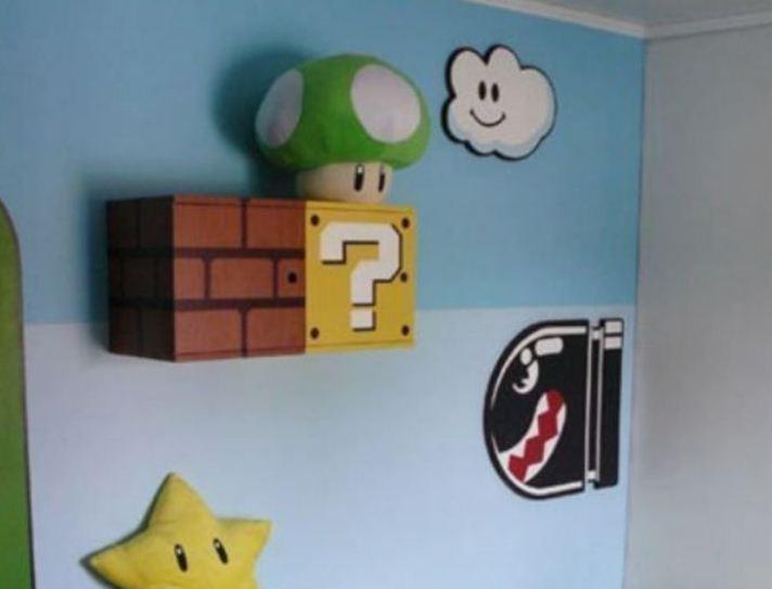 Пиксельная графика в детской комнате