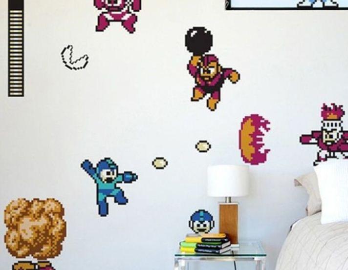 Интерьерные наклейки для декора стен