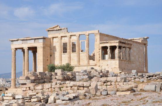Эрехтейон - последний храм в ансамбле афинского Акрополя