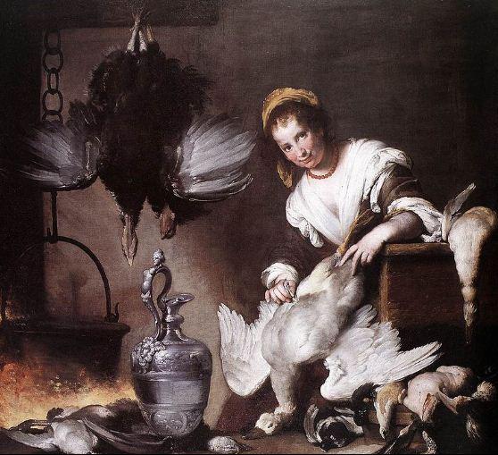 """Бернардо Строцци """" Кухарка"""" ( 1625 год)."""