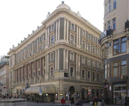 Здание почтово - сберегательной кассы в Вене ( архитектор Отто Вагнер)