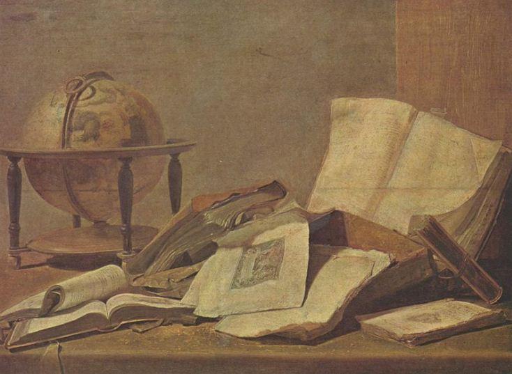 Давид Тенирс Младший. Натюрморт ( 1645 - 1650 годы).