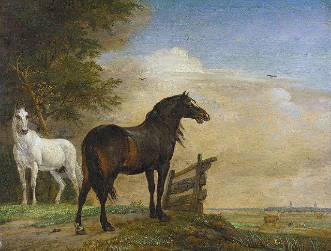 Паулюс Поттер ( 1649 год).