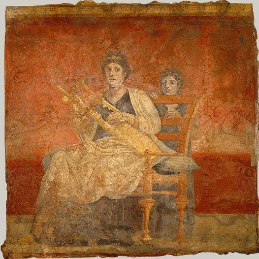 Фреска из оформления виллы в Боскореале.
