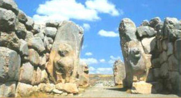 Руины храма в городе Хаттушаш ( современный Богаскей)