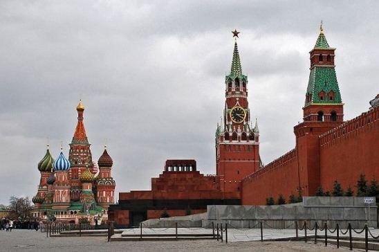 Композиция ансамбля Красной площади.
