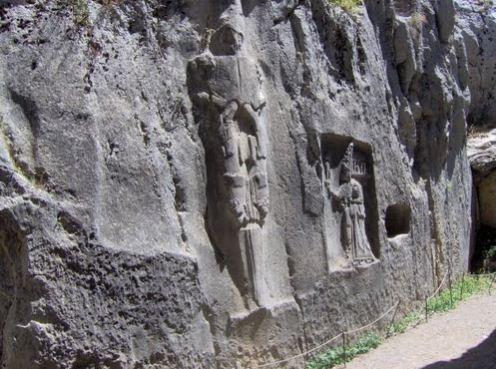 Язылыкайя Хаттуса - открытое святилище хеттов.