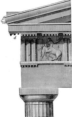 Антаблемент дорического ордера