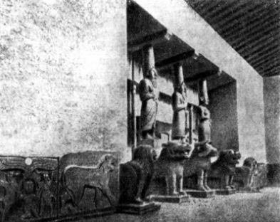 Храм - дворец Телль - Халаф( IX век до нашей эры).