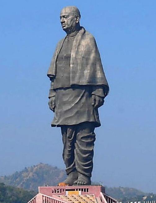 Статуя Единства - памятник в честь Валлабхаи Пателя.