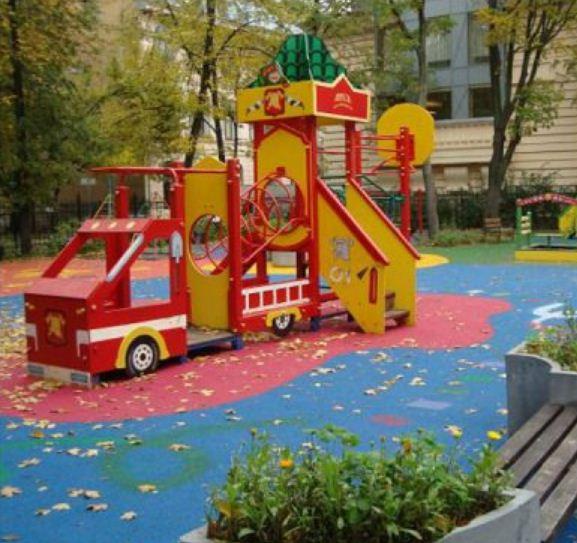 Оформление участка в детском саду