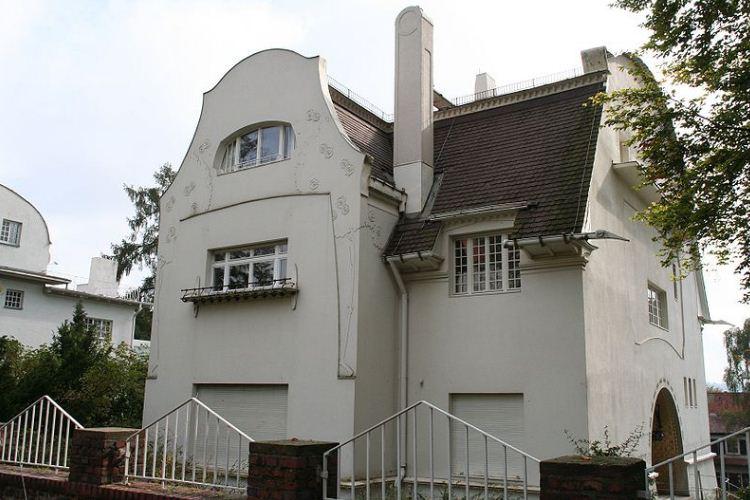 Большой дом Глюкерта ( 1901 год)