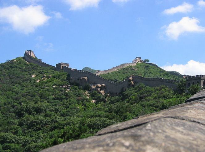 Великая стена Китайской империи